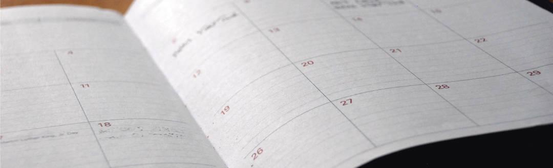 Calendario curso