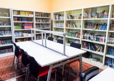 Amplia colección de libros