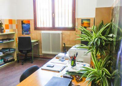 Una sala de la EOIC