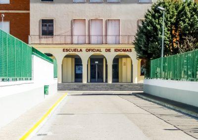 Entrada a la Escuela Oficial de Idiomas de Calahorra
